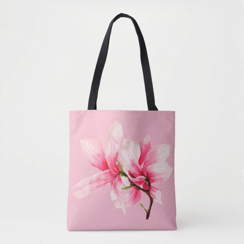 Magnolia Blossom Tote Bag