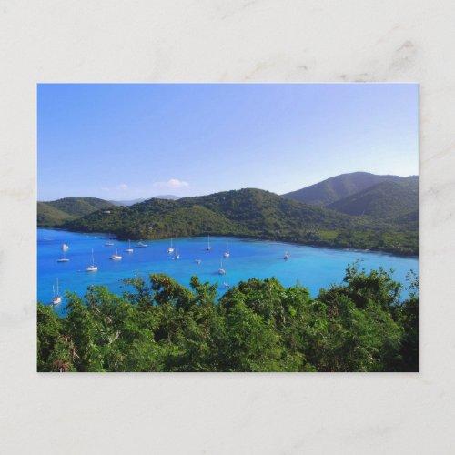 Maho Bay Beach, St. John, U.S.V.I. Postcard postcard