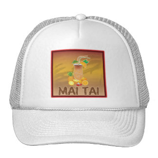Mai Tai Cocktail Hat