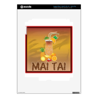 Mai Tai Cocktail Skins For iPad 3