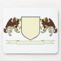 Make Your Own Family Crest Mouse Pad | Zazzle