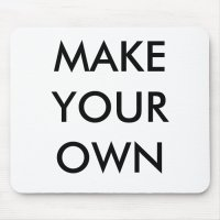 MAKE YOUR OWN MOUSE PAD | Zazzle