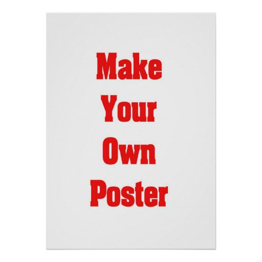 create your own poster for free
