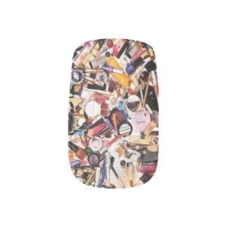 Makeup Hoarder Minx Nail Art