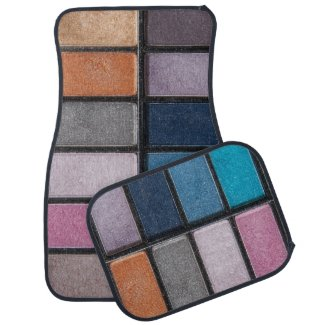 Makeup On The Go Car Mat Set