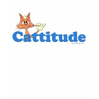 Male Cattitude shirt