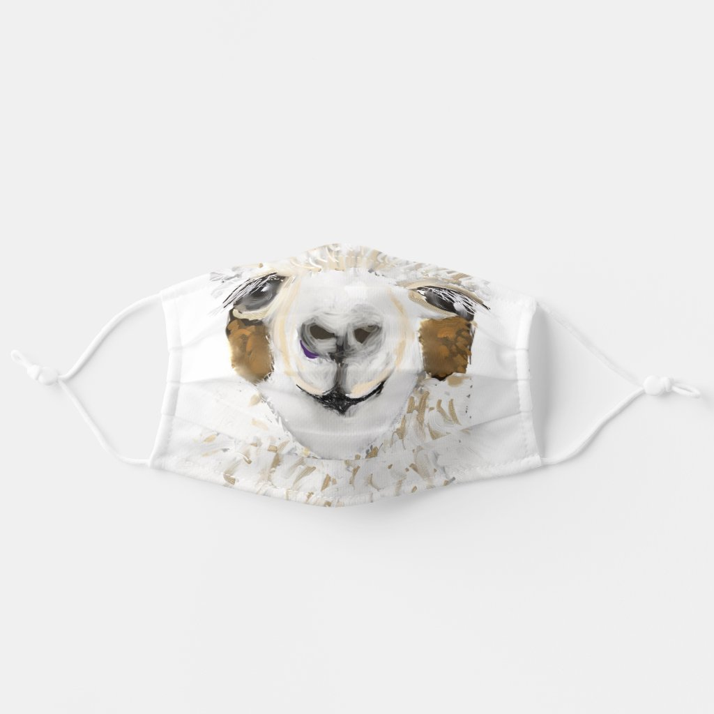 Mama Llama Cloth Face Mask