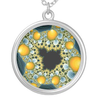 Mandelbrot Tea - Fractal Necklace necklace