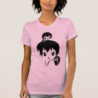 manga family t-shirts