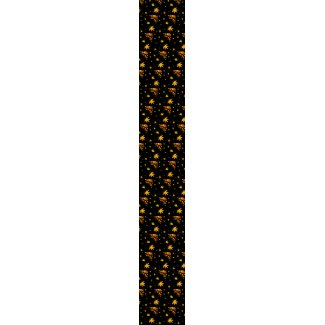 Maple leaves neck tie