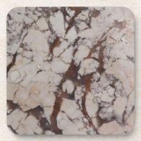 Marble Stone Pattern Drink Coaster | Zazzle