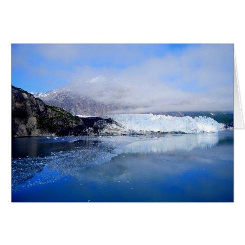 Margerie Glacier, Glacier Bay Alaska, Card