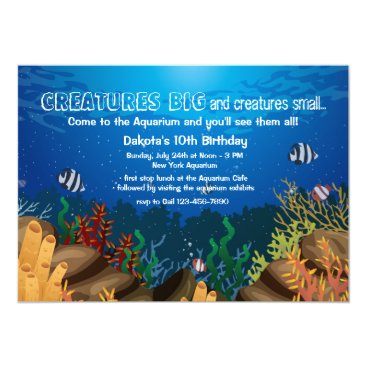 Marine Life Invitation