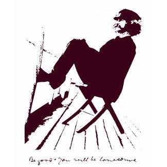 Mark Twain t-shirt shirt