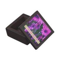 Marry Me Purple Daisies Engagement Ring Box Premium ...