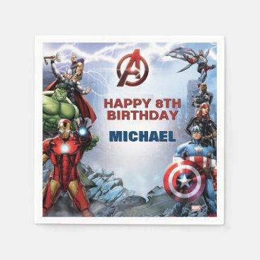 Marvel | Avengers - Birthday Napkin