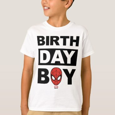 Marvel | Spiderman - Birthday Boy T-Shirt