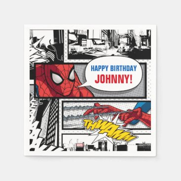 Marvel | Spiderman - Birthday Napkin
