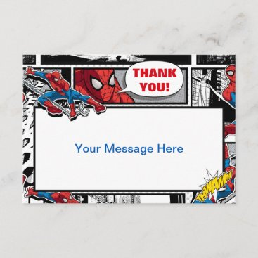 Marvel | Spiderman - Birthday Thank You Card