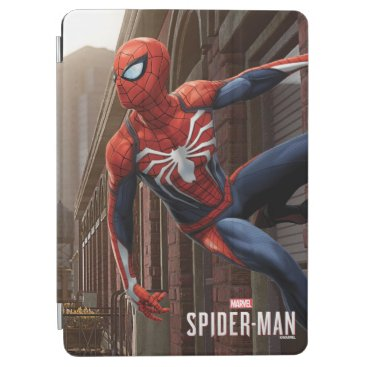 Marvel's Spider-Man | Hanging On Wall Pose iPad Air Cover