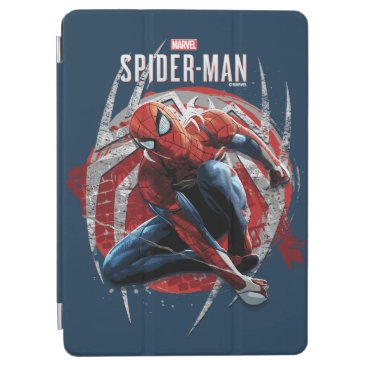 Marvel's Spider-Man | Web Swing Street Art Graphic iPad Air Cover