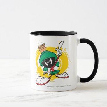 Marvin Pointing Upward Mug