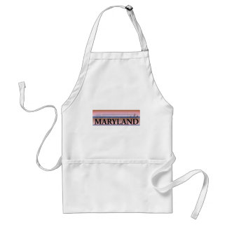 Maryland Chesapeake Bay Scene Aprons