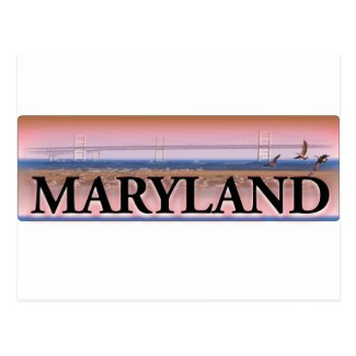 Maryland Chesapeake Bay Scene Postcard
