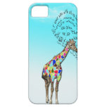 Matching giraffe love heart iphone covers casemate cases