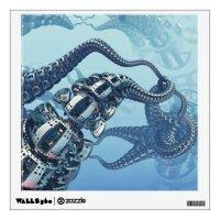 Mechanical Kraken Wall Decal | Zazzle