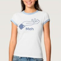 Funny T-Shirts & Gifts - Facebook Meh Button