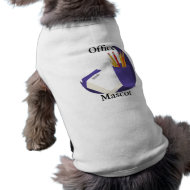 office mascot dog t-shirt