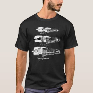 Men's Nyckelharpa dark T-shirt