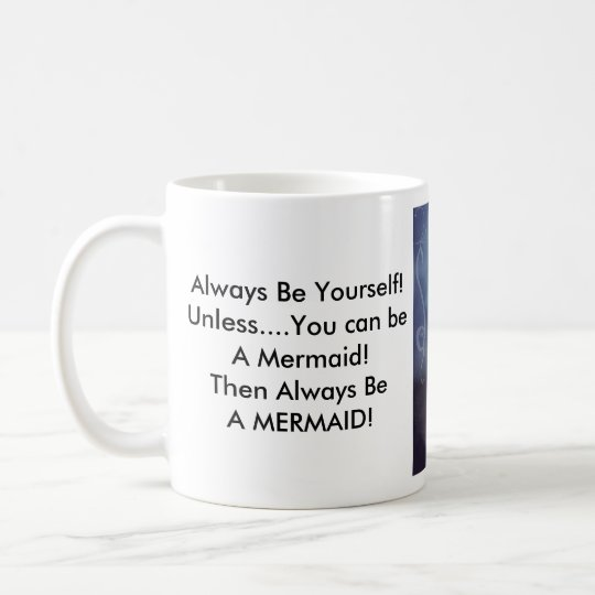 Mermaid Standard Size Coffee Cup  Zazzlecom
