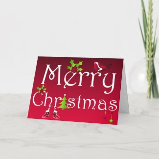 Merry Christmas - Card card