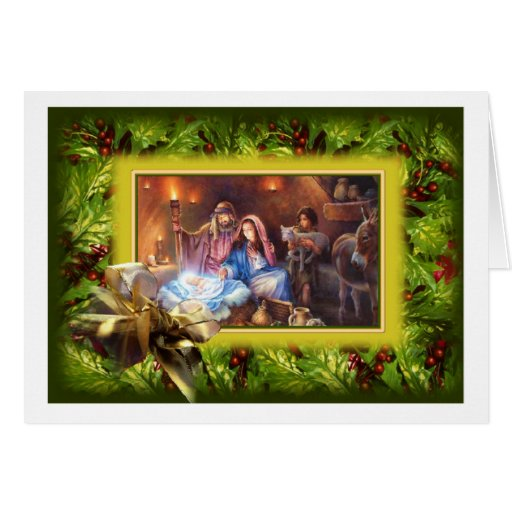 Merry Christmas Greeting Card Ukrainian Design Zazzle