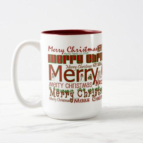 Merry Christmas Mug mug