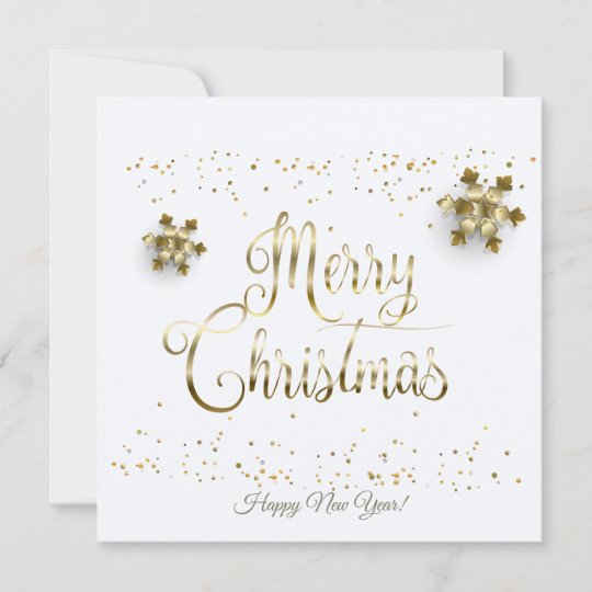 Merry Christmas & New Year! 2020 Holiday Card   Zazzle.com