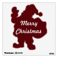 Christmas Wall Decals & Wall Stickers | Zazzle