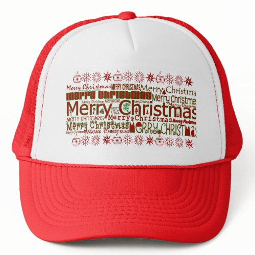 Merry Christmas - Trucker Hat hat