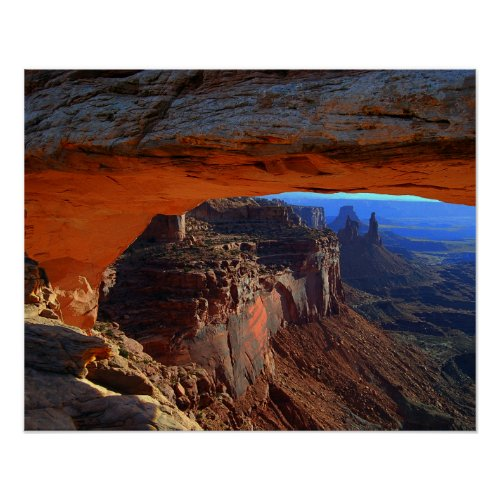 Mesa Arch at Sunrise, Utah Print
