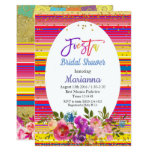 Mexican Fiesta Bridal Shower Party Invitation