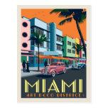 Miami, FL | Art Deco District Postcard