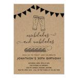 Micheladas & Enchiladas Birthday Party - Any Age Invitation