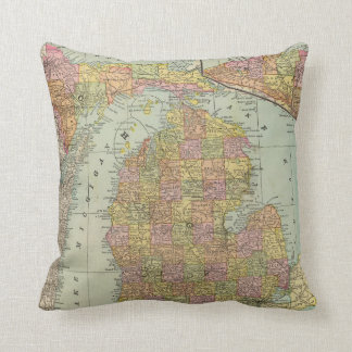 Michigan Pillows  Decorative  Throw Pillows  Zazzle
