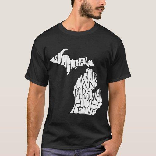 Michigan: God's High Five T-Shirt