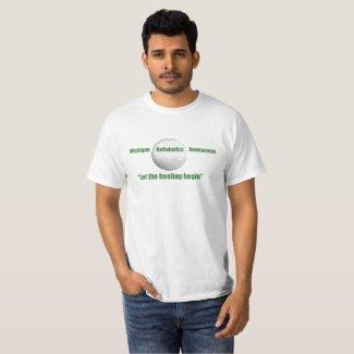 Michigan Golfaholics Anonymous T-Shirt