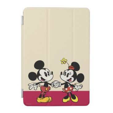 Mickey and Minnie Holding Hands iPad Mini Cover