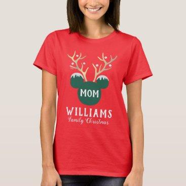Mickey | Family Christmas - Mom T-Shirt