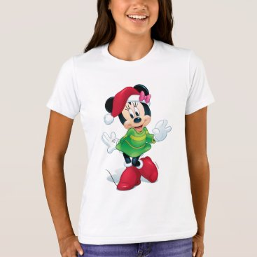 Mickey & Friends   Minnie Dressed For Christmas T-Shirt